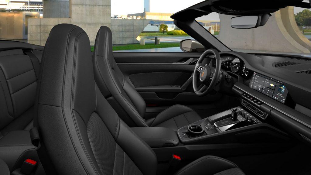 Interni della Porsche 911 Carrera S Cabriolet
