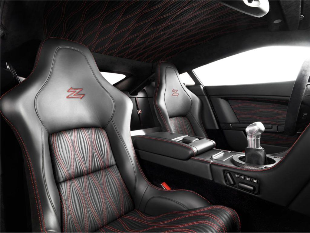 Interni della Aston Martin V12 Zagato