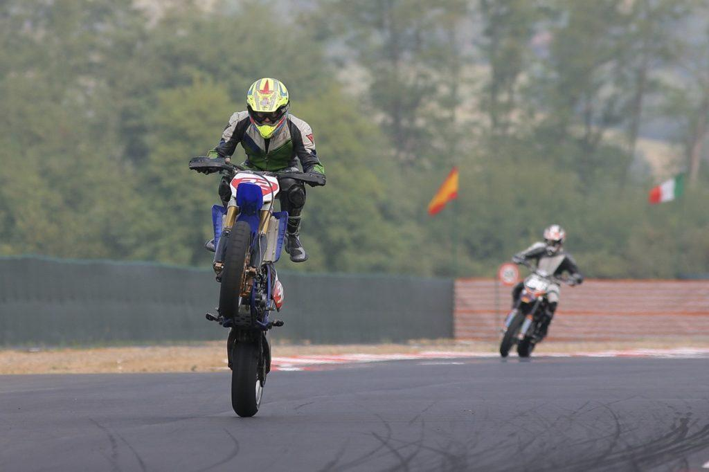 Supermotard all'autodromo di Monza