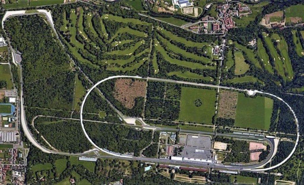 L'autodromo visto dall'alto