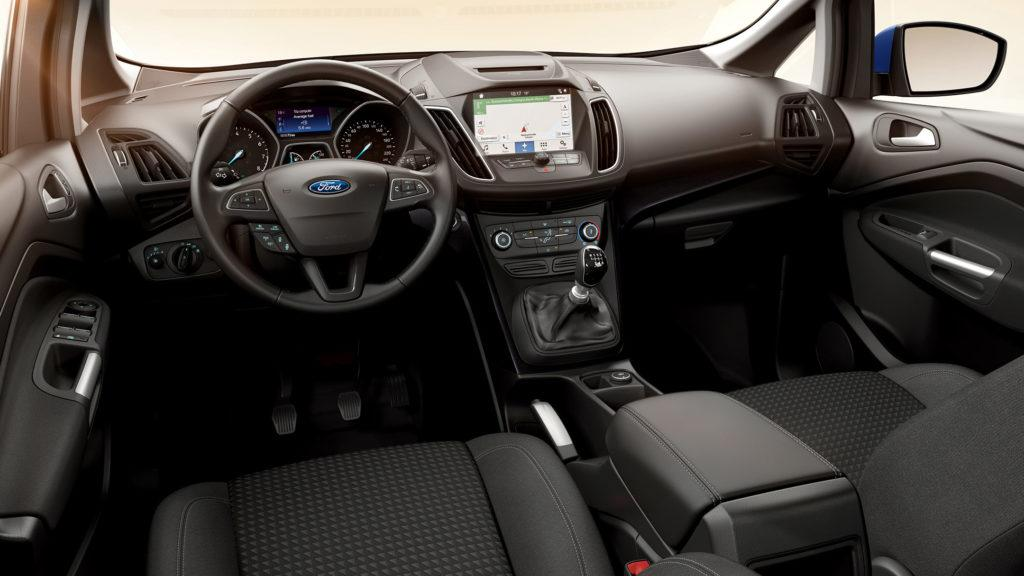 Interni della Ford C-Max