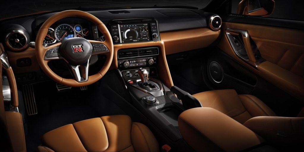 Interni della Nissan GT-R