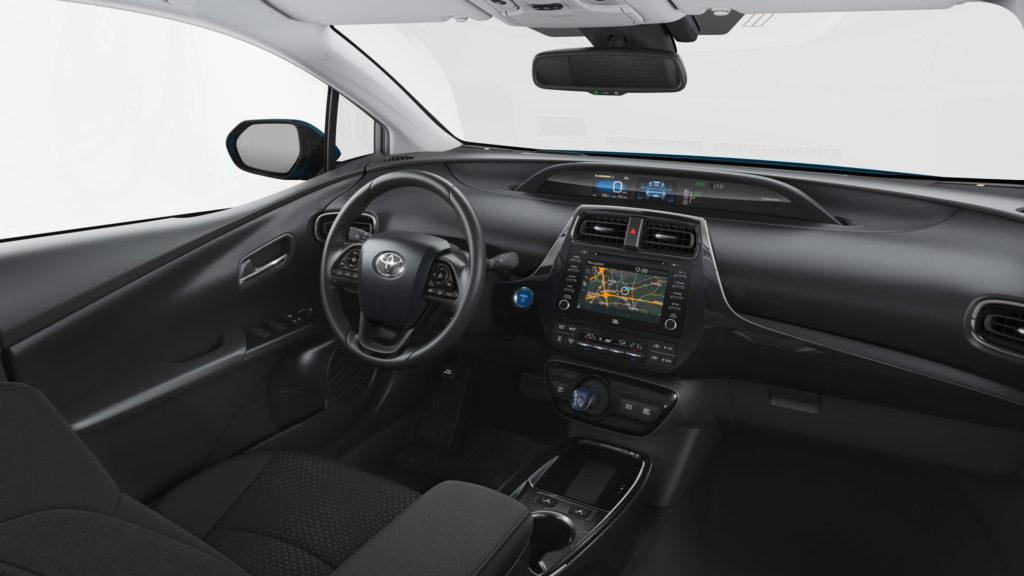 Interni della Toyota Prius