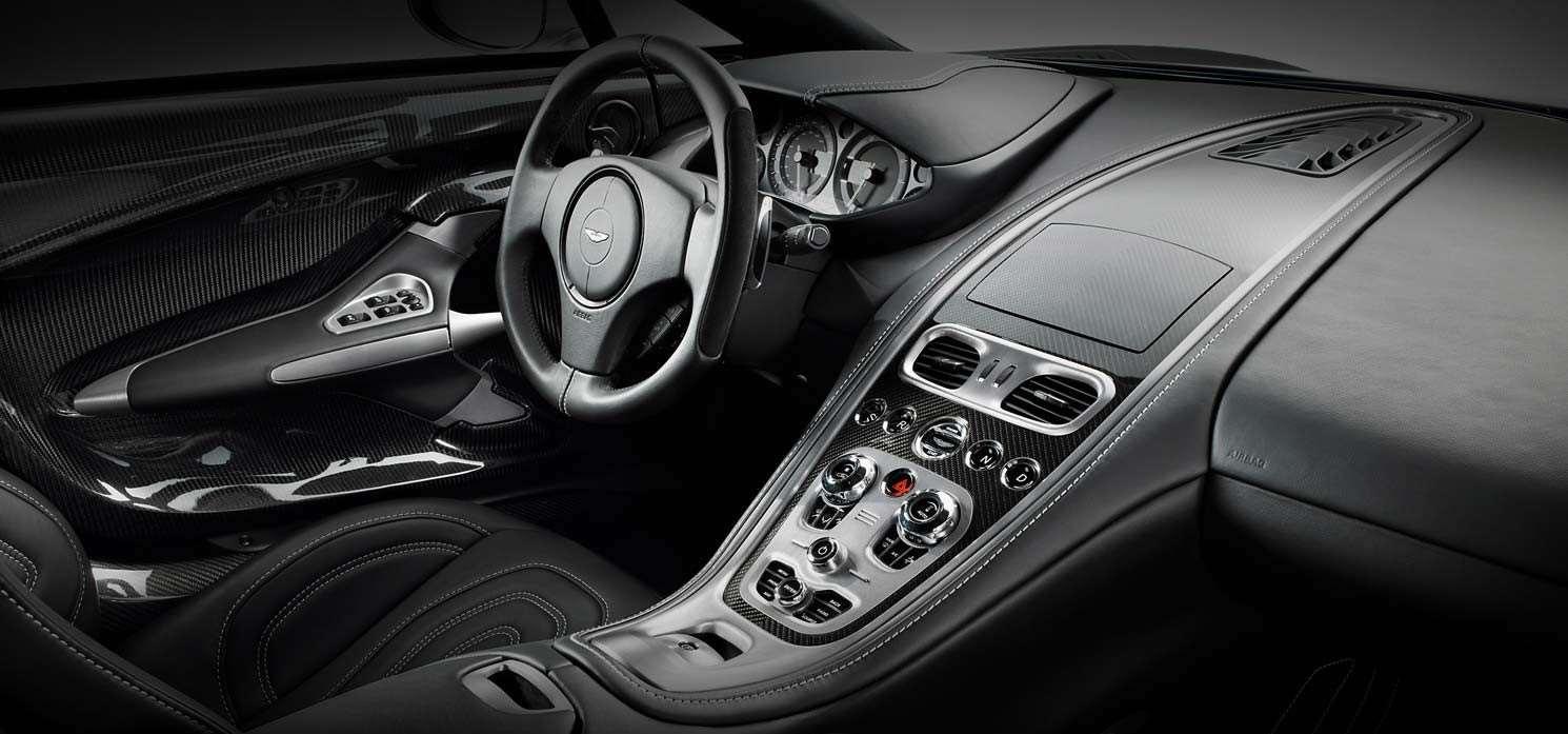 Interni della Aston Martin One-77