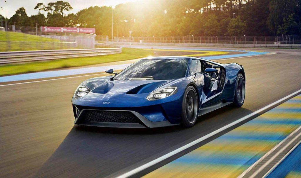 Ford GT su pista