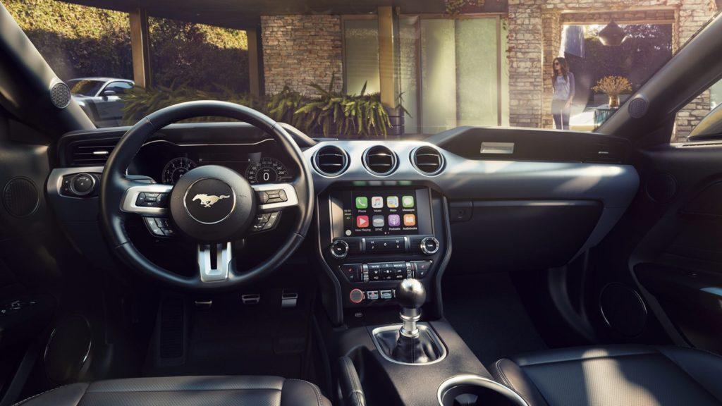 Interni della Ford Mustang