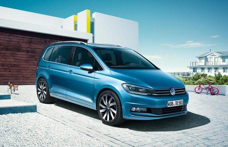 Interni della Volkswagen Touran
