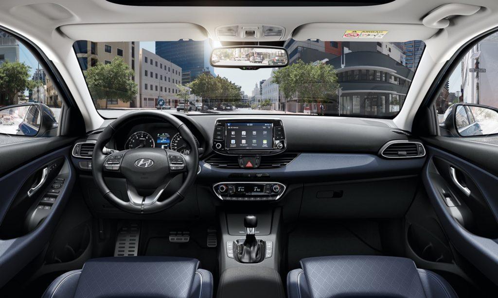 Interni della Hyundai i30