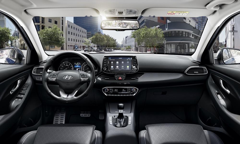Interni della Hyundai i30 wagon