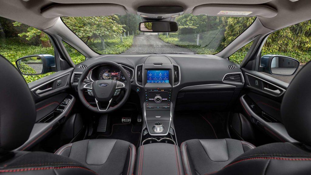 Interni della Ford S-Max